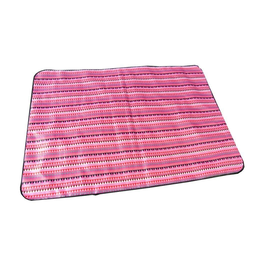 ZKKWLL Picnic Blanket Outdoor Picnic Blanket Multifunctional Beach Blanket Camping Hiking Collapsible Oxford Cloth Picnic mat mat Picnic mat (Color : A) by ZKKWLL