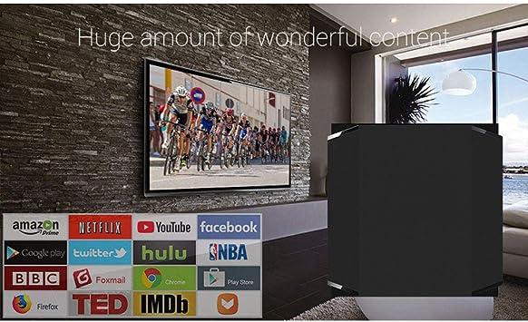 LTLZCY Android 9.0 TV Box Android Box 4GB RAM 64GB ROM Quad-Core A55 64Bitsmart TV Box 2.4G/5.8G Hz WiFi 8K Streaming Media Player,4g+64g,UKPlug: Amazon.es: Hogar