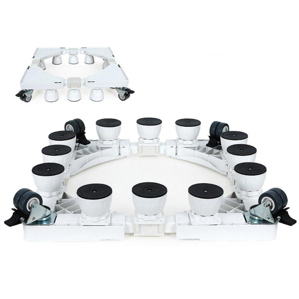 毎日の家 ホワイト洗濯機ベースステンレススチール製ブレーキブラケット付きスタンド (サイズ さいず : C) C  B07Q8RJCJ7