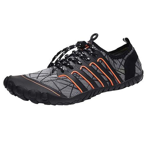 YUTING Zapatos de Agua Hombre Mujer Zapatillas Snorkel ...