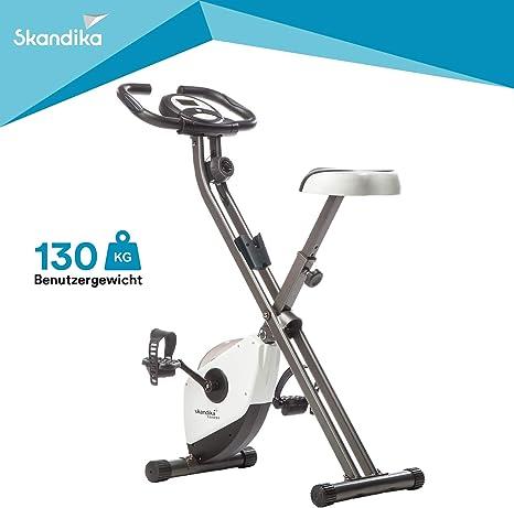 Skandika Foldaway X-1000 - Bicicleta estática fitness - 8 niveles ...