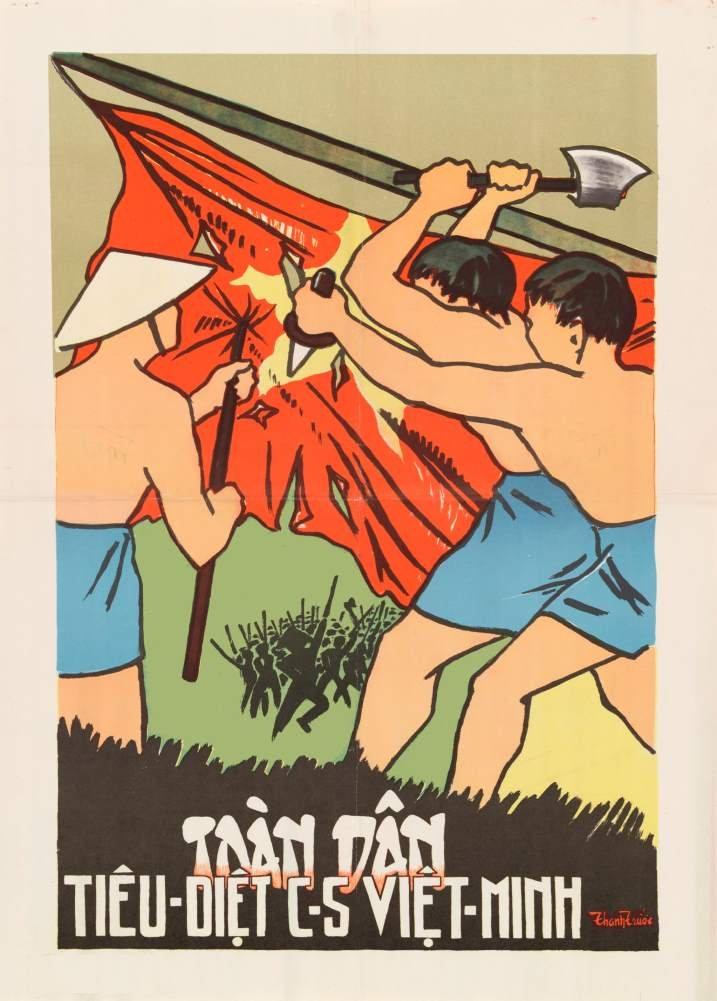 De Vietnam del sur anticomunista personas tratando de ...