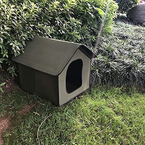 Niche étanche pour chat et chien - Maison d'extérieur imperméable pour chat - Maison pour animal domestique - Maison pour chat - Tente pliable