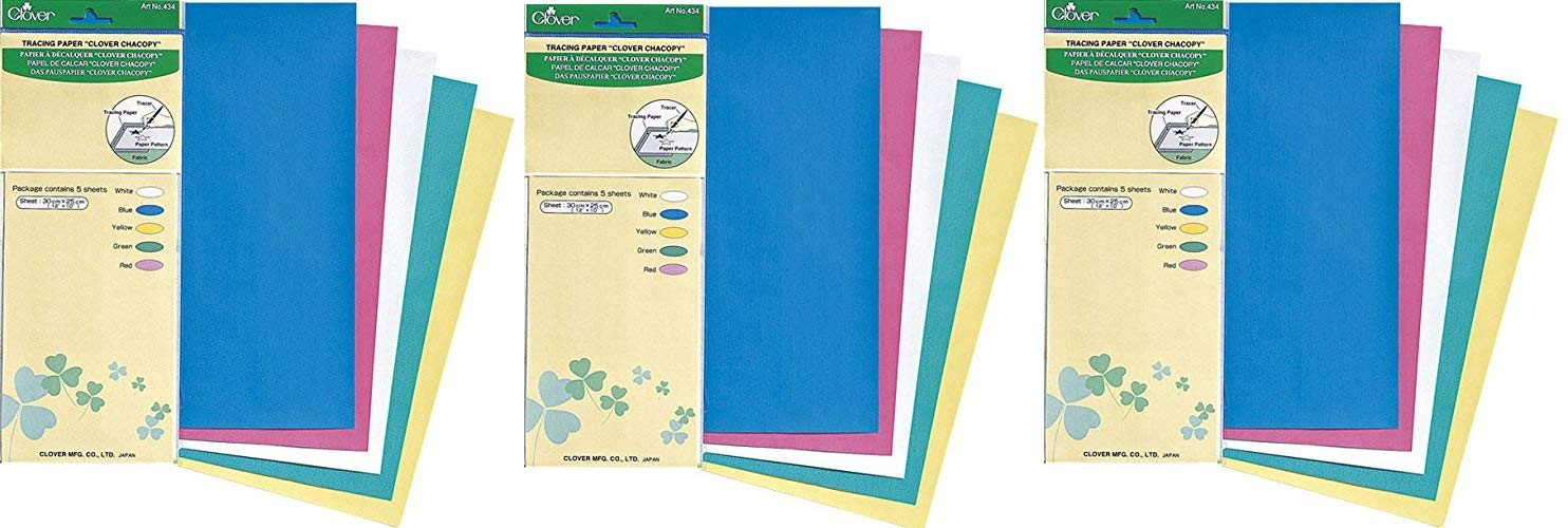 3 Pack CloverChacopy Tracing Paper