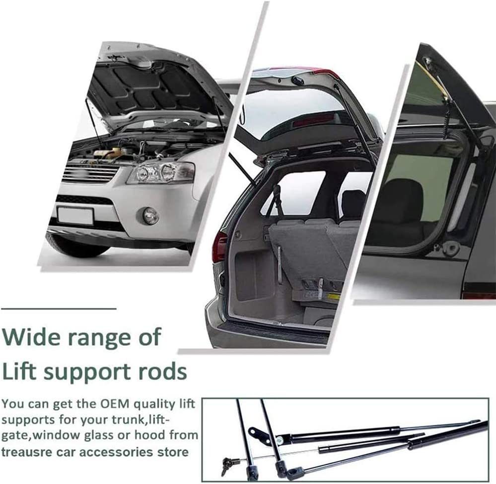 Auto Damper Accessories JABL 2Pcs Car Boot Gas Springs Rear Tailgate Hood for Land Rover Range Rover Sport L320 2005-2012 Trunk Shocks Struts Lift Support Bars Telescopic Arm Rod