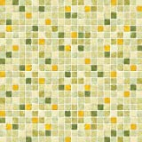 Buydecorativefilm BDF 1GT Window Film Green Tile Non-Adhesive Static Cling, 14in X 7ft