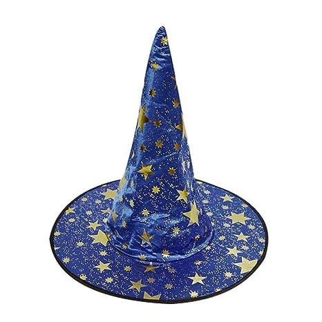 BaZhaHei-Halloween, Abrigo de Capa Chaleco de túnica + Sombrero de Bruja Fiesta de Halloween Capa de Bruja de Halloween Camisetas de Mujer Tops para Mujer ...