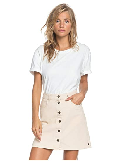 Roxy Womens Unforgettable Fall Button Through Corduroy Skirt for ...