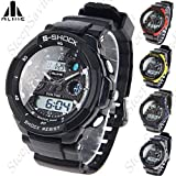 (ALIKE) AK1170 50M Waterproof Digital Watch Quartz Analog Watch Wristwatch Timepiece for Men Male Boy SWMN4-205187