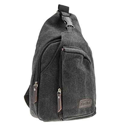 Classic Chest Front Bag Crossbody Canvas Messenger Sling Bag Travel Sports  Gym Backpack Rucksack Women Men f7a244648192