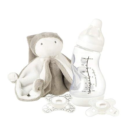 Difrax Set de regalo para bebés - Biberón S/Tela de abrazo ...