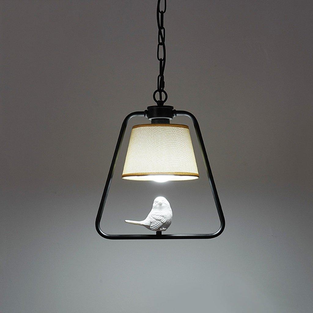 シーリングライト シンプルな鳥の国のシャンデリア、シングルヘッド、ポーチアイルバルコニーレストランランプ [エネルギークラスA ++] (色 : 白, 設計 : B) B07RJSDJTM 白 B
