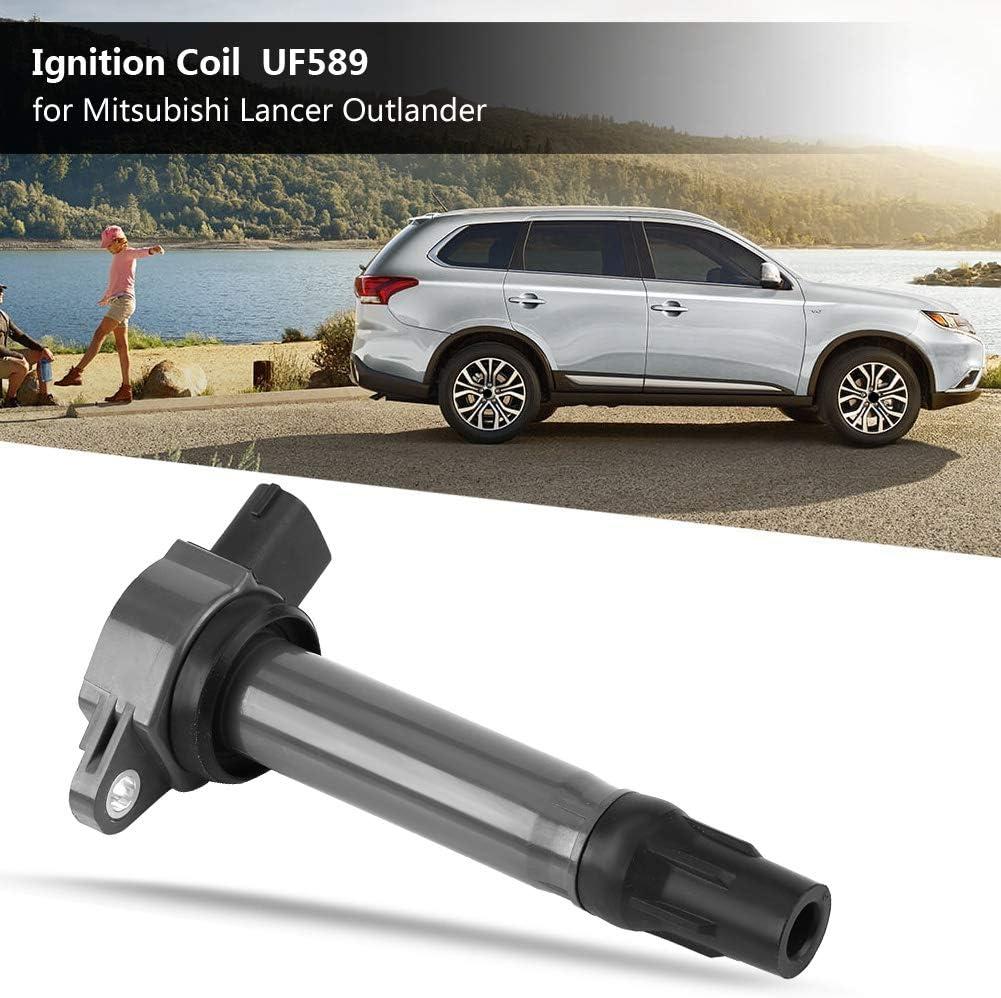 Cuque UF-589 12127 PBT Auto Engine Ignition Coil for Mitsubishi Outlander 2.4L 3.0L 2007 2008 2009 2010 2011 2012 2013 2014 2015 2016 Sport 2.0L 2011-2014 Lancer 2.0L 2.4L 2008-2015 5C1751 1832A016