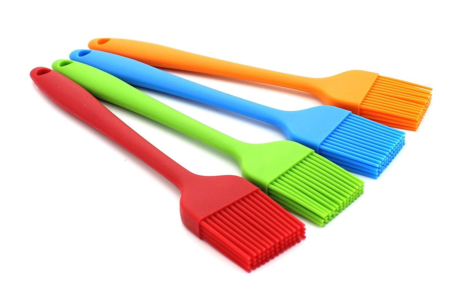 Hosaire Silicone Pastry Brush Basting Brush,BBQ Brush,Essential Cooking Gadget 8.2 Inch Long (Random color)