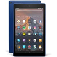 Fire HD 10 Tablet, 1080p Full HD Display, 32 GB, Blue—with Special Offers