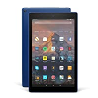 "Fire HD 10 Tablet with Alexa Hands-Free, 10.1"" 1080p Full HD Display, 32 GB, Marine Blue – with Special Offers"