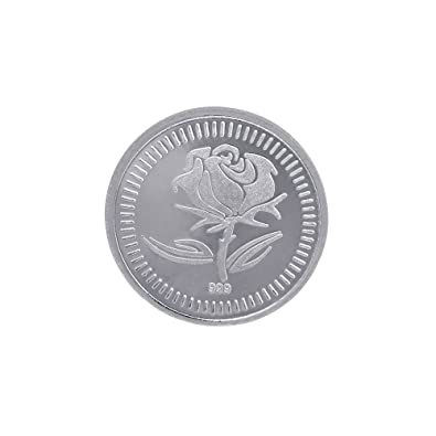 Buy Joyalukkas  Sterling Silver Coin Online At Low Prices In India Amazon Jewellery Store Amazon In