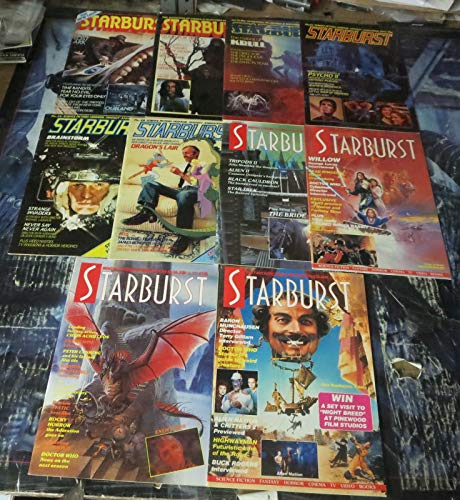 (Starburst Mag Collection! 10 issues 1982-1986! Raiders Lost Ark, Krull, Willow)