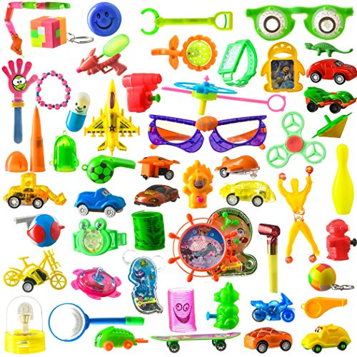 (BDC Toy Assortment Stocking Stuffers, 100)