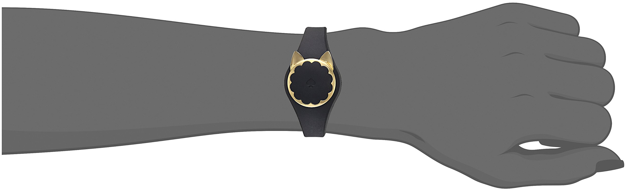 Kate Spade New York black cat scallop activity tracker by Kate Spade New York (Image #3)