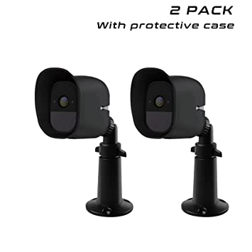 Outdoor Security Wall Mount+Silicone Skins Protective Case for Arlo Pro//2 Camera