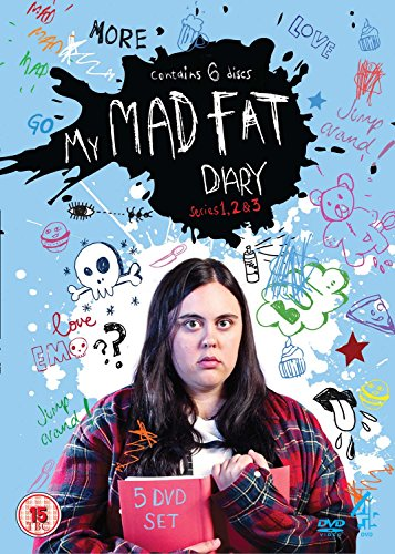 My Mad Fat Diary (Series 1, 2 & 3) - 5-DVD Box Set ( My Mad Fat Diary (Series One, Two & Three) ) [ NON-USA FORMAT, PAL, Reg.2 Import ()