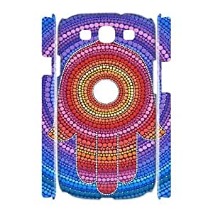 MANDALA HAMSA CUSTOM 3D Hard Case for Samsung Galaxy S3 I9300 LMc-03292 at LaiMc