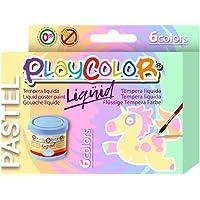 PlayColor - Juego de Pinturas de Gouache líquidas