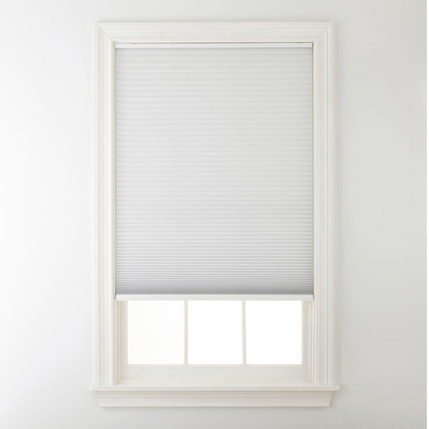 Window Blind Store Light Filtering Cordless Cellular Shade Nimbus Cloud Gray 23x48 by Window Blind Store