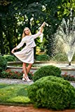 Home Comforts LAMINATED POSTER Park Nature Fountain Girl Water Trees Fine Poster Print 24x16 Adhesive Decal