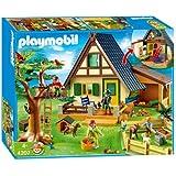 Playmobil 5004 mega set casa del guardabosques for Casa moderna 4279