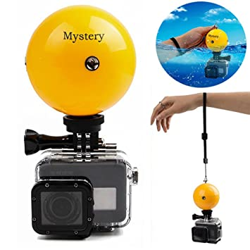 Misterio monopié trípode selfie stick boya flotante impermeable roatable ajustable flotante con temporizador ajustable Muñequera para