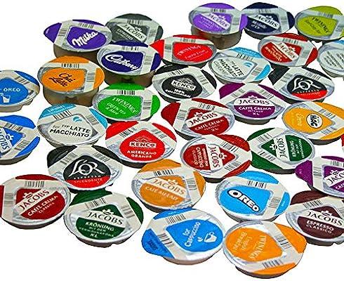TASSIMO T-disc - Cápsulas de 37 sabores (46 T-discs): Amazon.es ...