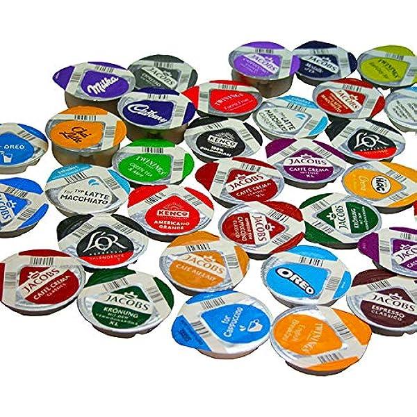 TASSIMO T-disc - Cápsulas de 37 sabores (46 T-discs): Amazon ...