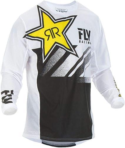 FREE SHIP! Fly Racing Mens Kinetic Mesh Rockstar MX Jersey ALL SIZES