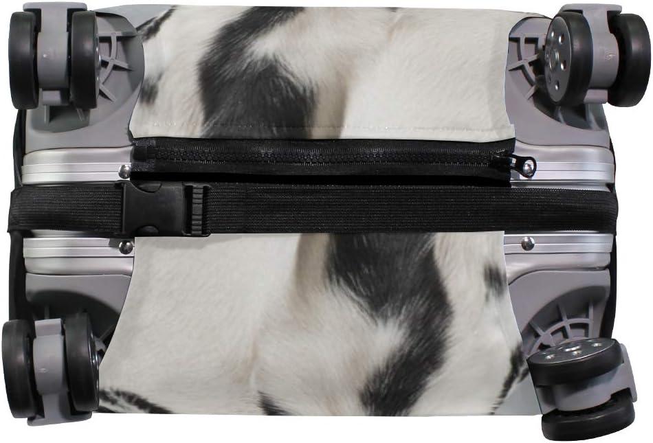 VIKKO Dalmatian Dog Travel Luggage Cover Suitcase Cover Protector Travel Case Bag Protector Elastic Luggage Case Cover Fits 29-32 Inch Luggage for Kids Men Women Travel