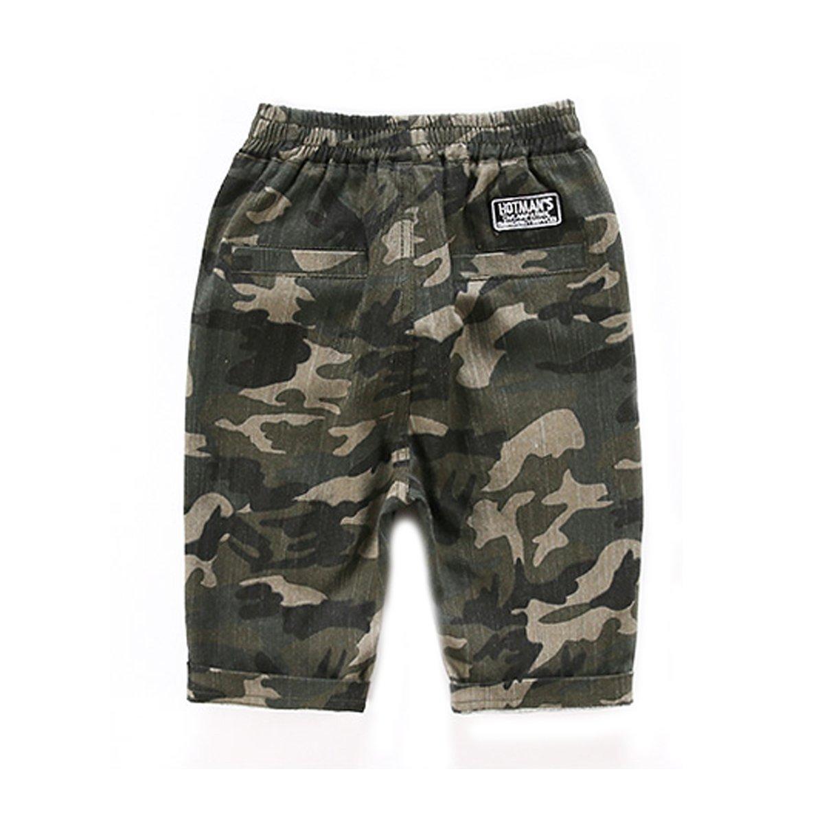 NABER Kids Boys Fashion Camouflage Summer Cargo Shorts Age 4-13 Years