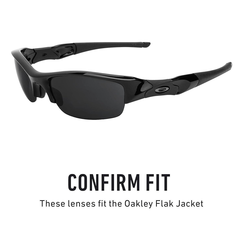 05421dc4a0f Revant Replacement Lenses for Oakley Flak Jacket Black Chrome MirrorShield®   Amazon.co.uk  Clothing