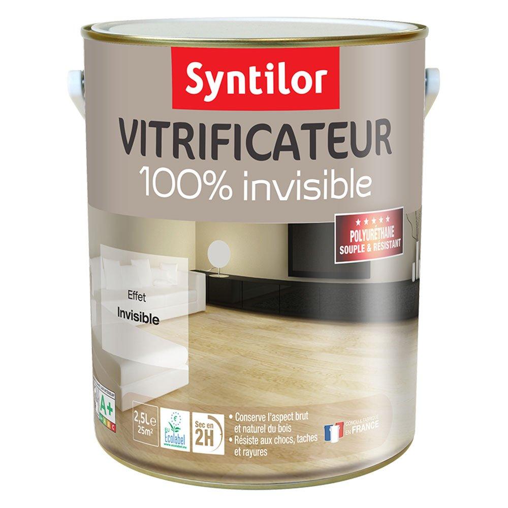 Vitrificateur 100% Invisible Incolore 2, 5L Syntilor 00100013