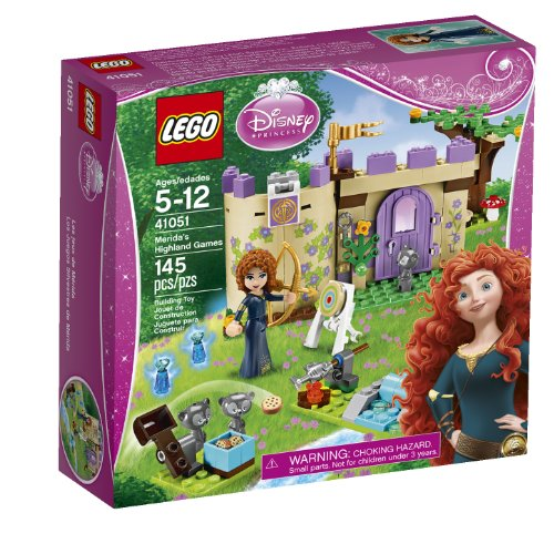 Merida Disney Princess (LEGO Disney Princess 41051 Merida's Highland Games)