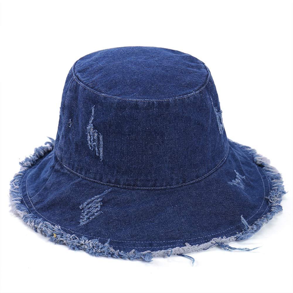 sdssup Sombrero de Pescador Sombrero Liso de Color Femenino ...