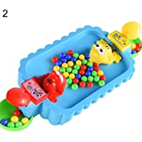 guoYL26sx chird's toys24Pcs Beads Frog Eating Beans Board Table Game Interactive Educational Kids Toy - 3