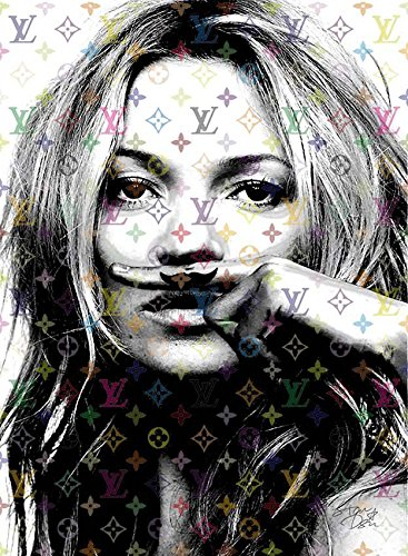 Kate Moss ルイヴィトン Louis Vuitton ポップアートポスター オマージュアート#td70 STAR DESIGN A1サイズ(594×841mm) B074KDT6KMA1(594×841mm)