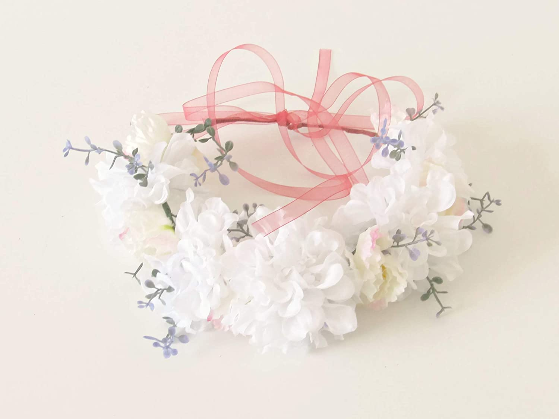 Hair Wreath Filled Carnations Sunflower Flower Wreath Hair Wreath