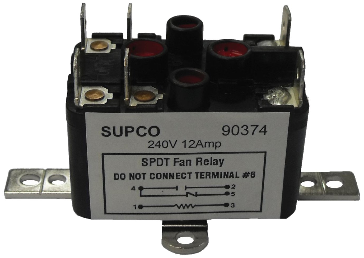 Supco 90293 general purpose fan relay, 1 a load current, 24 v coil on hvac fan relay wiring diagram Miller Oil Furnace Wiring Diagram Rib Relay Wiring Diagram