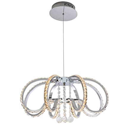 Lights & Lighting New Modern Led Acrylic Brushed Coffee Circle Lamp Chandelier Lights For Dining Room Bed Room Deco Ceiling Fixtures With A Long Standing Reputation