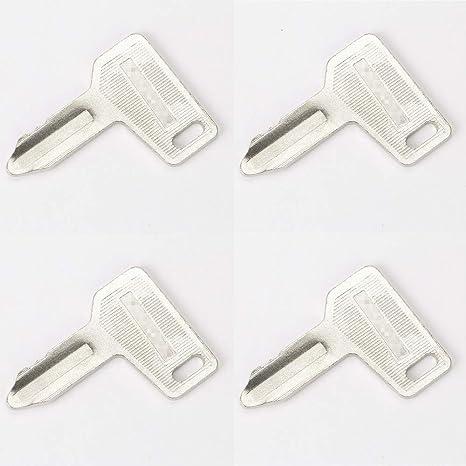 Baaqii 4 Stück Bagger Zündschlüssel Für Yanmar Elektronik