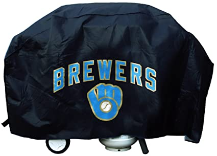 Tremendous Milwaukee Brewers Mlb Grill Cover Economy Gmtry Best Dining Table And Chair Ideas Images Gmtryco