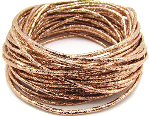 (2.0mm Soft Waxed Cotton Metallic Cord Jewelry Thread Craft String Lift Cord for Bracelet Necklace Beading Jewelry Making 10 Meters)