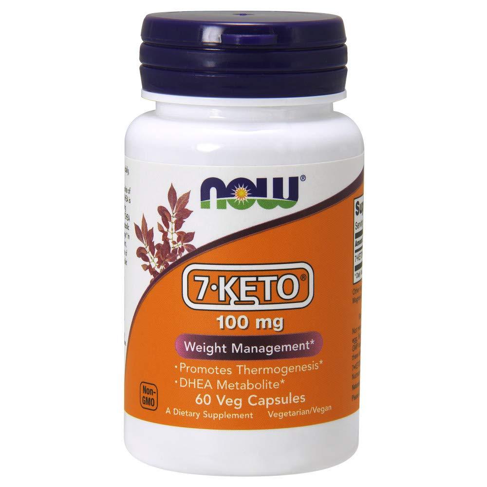 Now 7-Keto 100 mg,60 Veg Capsules